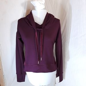 NWT Champion Duo Dri Cowl Neck Workout Top XS